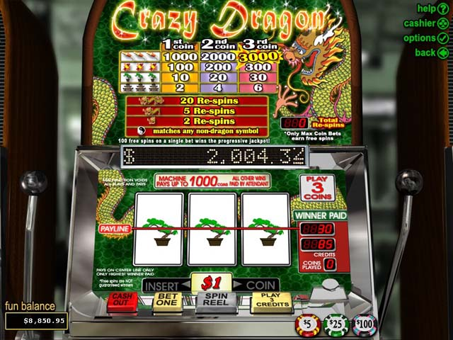 Crazy Dragon
